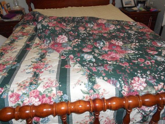 Shabby Chic Floral Comforter Freeshipping Croscill Reversable