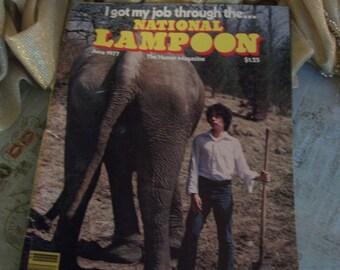 National Lampoon Magazine June 1977