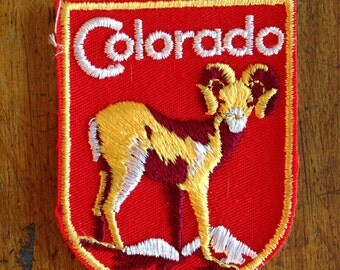 Colorado Vintage Souvenir Travel Patch from Voyager