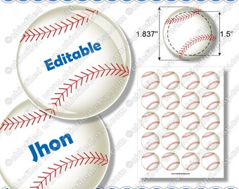 Divine image inside free printable baseball tags