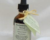 Meadowsweet Herbal Tincture bottle aids pain relief arthritis menopause acne skin care 2oz