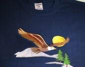 Size XL Tall Navy T-Shirt...