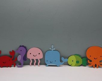 Under the Sea Animals, Set of 6