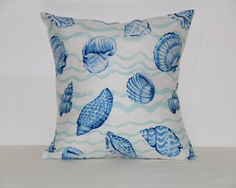 Nautical pillow cover