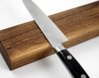 SALE 5 Dollar Shipping in North America *** Walnut 7 Inch Magnetic Knife Rack