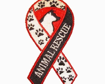 IRON-ON PATCH - Animal Rescue