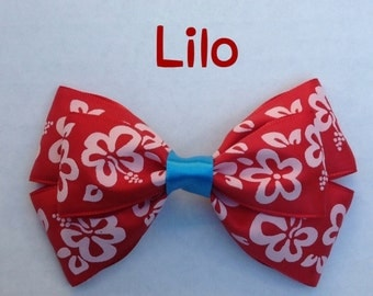 lilo hair bow