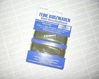 Velcro stripe, olive, 50 cm (364)