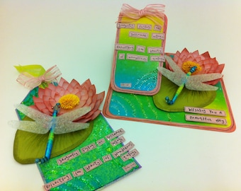 Waterlily and Dragonfly Projects Online Workshop