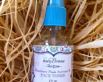 Pure and Natural Strawberry Toner and Mask Activator