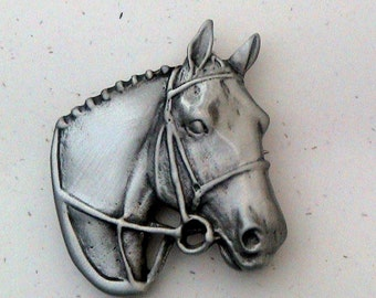 Hunter Horse Pin | Hunter Horse Brooch | Jumper Pin | Jumper Horse Brooch | English Horse Pin | English Horse Brooch | Horse Jewelry