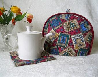 Popular items for debbie mumm on Etsy - Debbie Mumm Teapot Kitchen Towels