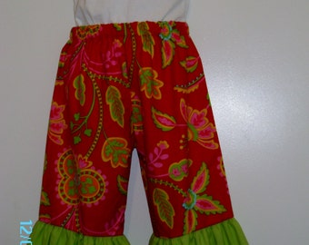 Sale Michael Miller Ruffle Pants Size 18 Months , 4T only ready to ship.