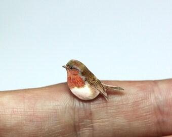 Robin earrings, robin post earrings, robin jewellery, robin studs, bird earrings, bird jewellery, robins, birds, earrings