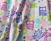 Forest Animal Minky Blanket, Minky Baby Blanket, Baby Shower Ideas, Baby Blankets **Ready to Ship**