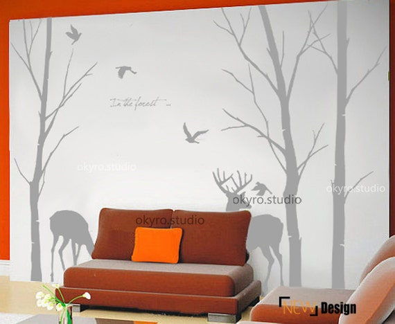 Schablone Wand Baum Baum Wand Schablone Wand