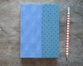 Fabric Bound Handmade Datebook with Vintage Fabrics