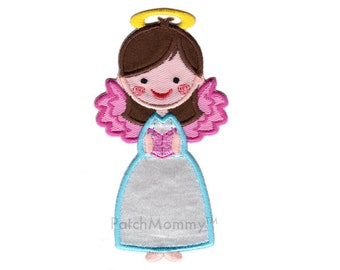Angel Iron-On Patch Applique - Kids / Christmas