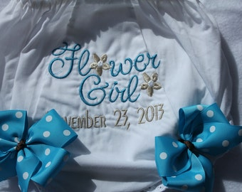Flower Girl Bloomers