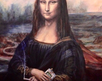 "Menthol Lisa 8"" x 10"" print"