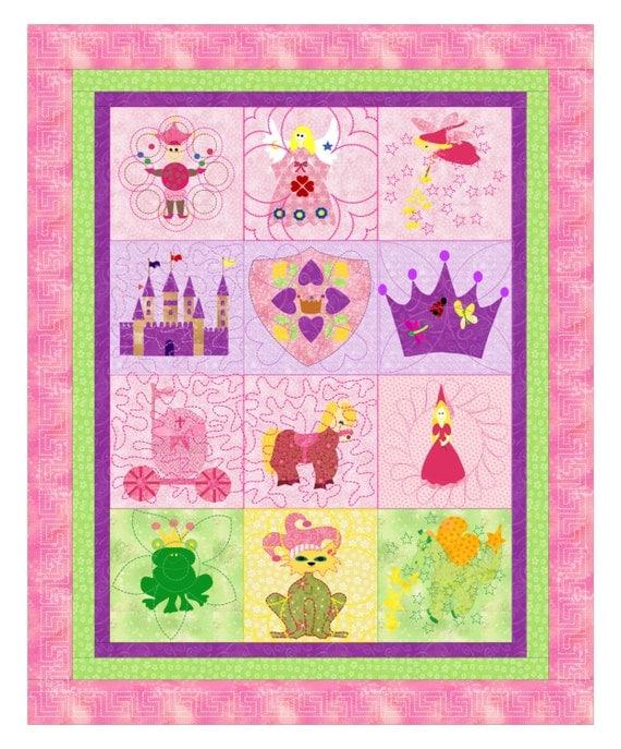 Baby Girls Quilt A Girls Imagination Quilt Pattern