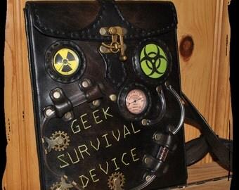 leather IPAD case, shoulder bag