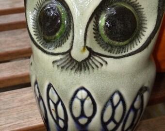 Owl Ceramic Groucho Marx Mustache