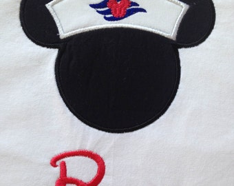 Disney Cruise - Sailor Mickey - Personalized - Youth
