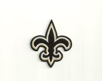 Fleur De Lis Patch, any color combo. Custom Made!