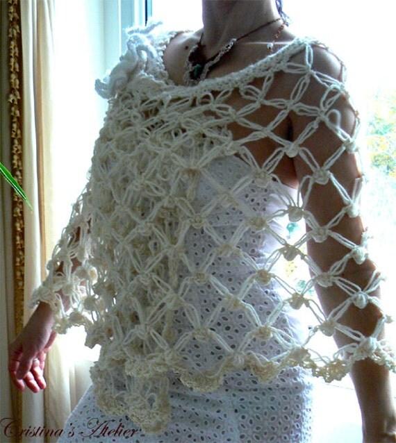 Adelina crochet lace shawl. Handmade lace bridal shawl. Vintage inspired white, pink crochet shawl Elegant crochet scarf. Lace crochet shawl