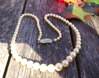 Vintage Lotus pearls