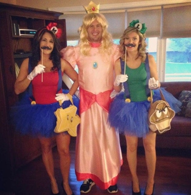 zoom - Girl Mario And Luigi Halloween Costumes