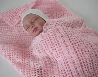Crochet Baby Afghan, Baby Blanket, Baby Girl, Baby Boy, Baby Bunny, Newborn Baby Blanket, Easter Afghan, Easter Blanket