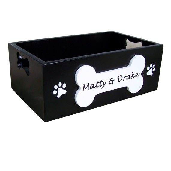 Dog Toy Box With Name