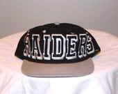 Vintage Oakland/ Los Angeles Raiders Snapback