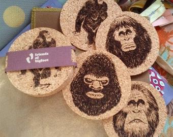Bigfoot Coaster 4-pack Set 2