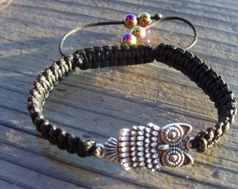 Free Owl Bracelet, Many Colors
