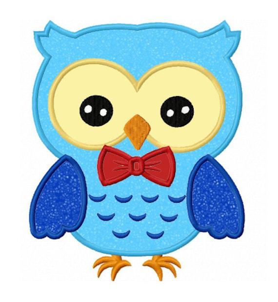 Owl Embroidery Design Applique