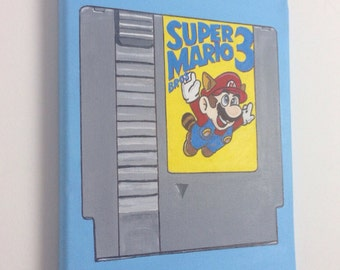 Super Mario 3 Original Painting