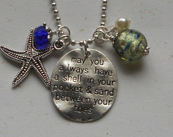 "Fun ""Sandy Toes"" Necklace"