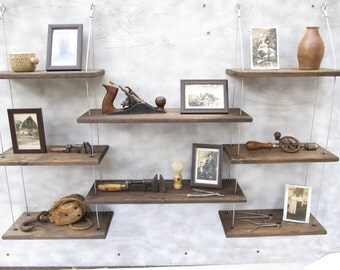 wall shelves, industrial shelves, floating shelves,home decor, modern furniture