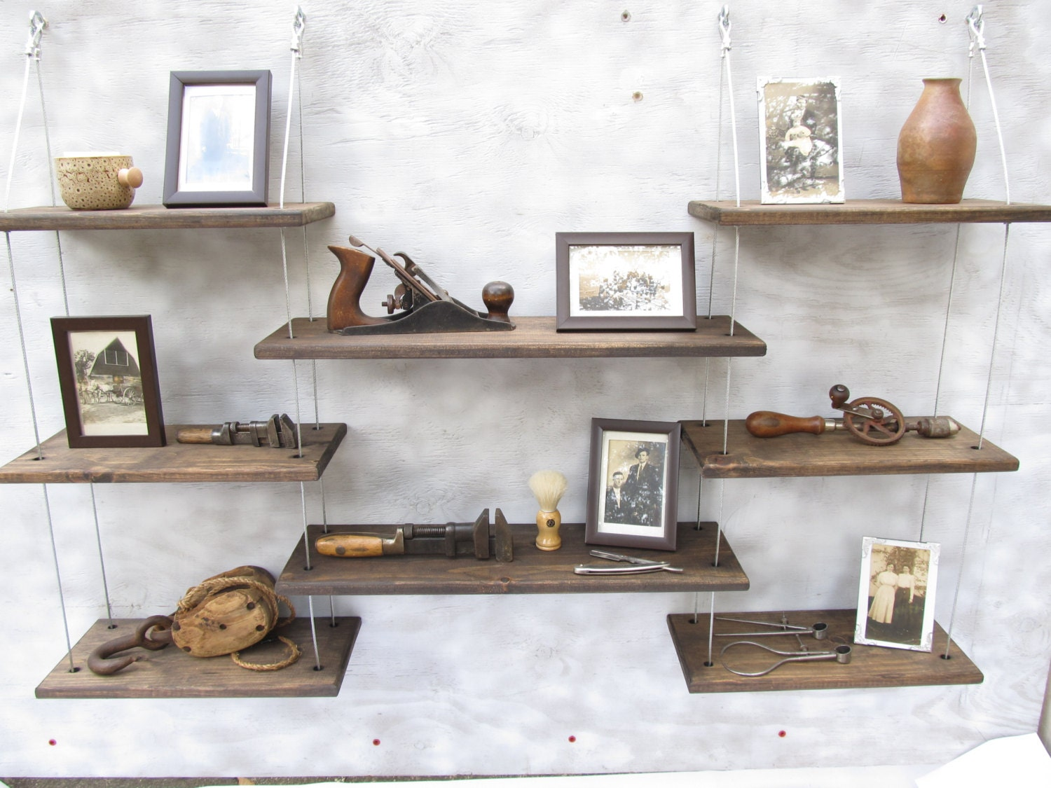 Wall shelves industrial shelves floating shelveshome decor zoom amipublicfo Image collections