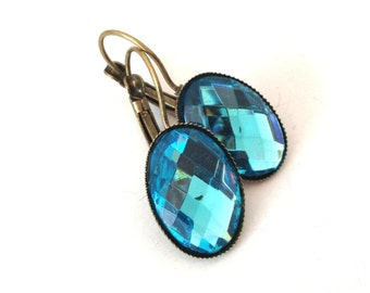 Heaven -  blue earrings