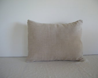 Natural Linen 12x16 Pillow Cover