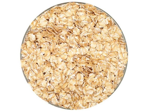 All Natural Raw FLAKED WHEAT Brewers Malted Grain For Home Beer Brewing 1 Pound