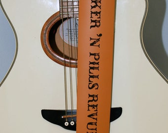 Custom Guitar straps. Personalized Guitar Straps, Guitar Straps, custom leather guitar straps