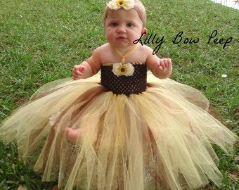 tutu dress,dress,baby girl,newborn girl,preemie,baby girl clothes,flower girl dress,sunflower dress,dress,baby outfit,child,girl,bridal,baby