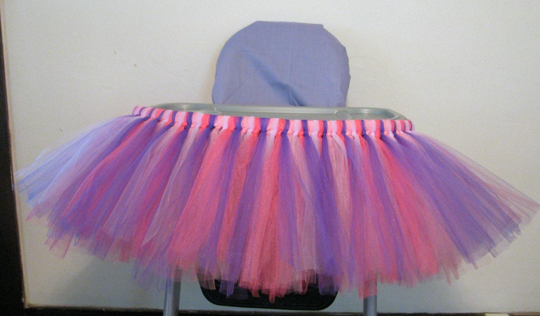 high chair tutu highchair tutu skirt doc mcstuffins by