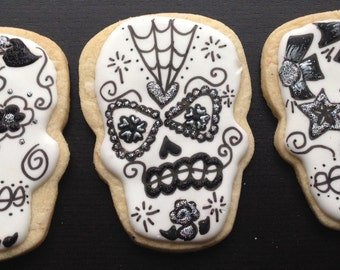 Day of Dead Sugar Skull Cookies