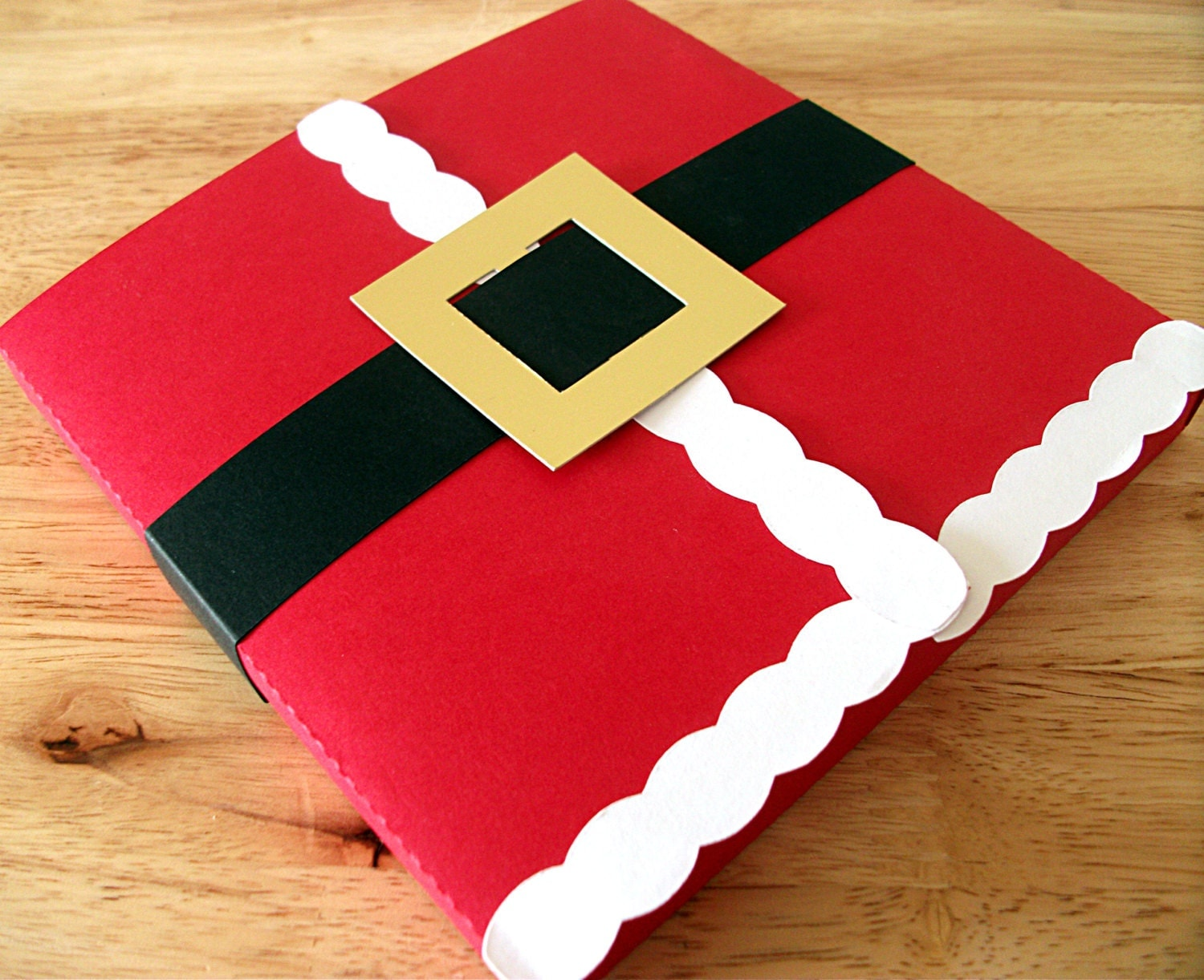 Holidays christmas santa cd and ds sized gift box